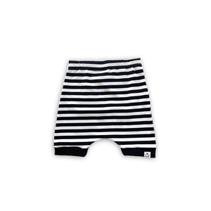 Striped Harem Shorts or Bummies for Baby Toddler and Kids