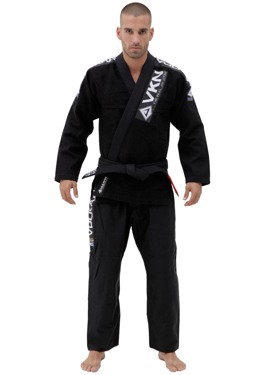 Vulkan Pro Light BJJ GI Black