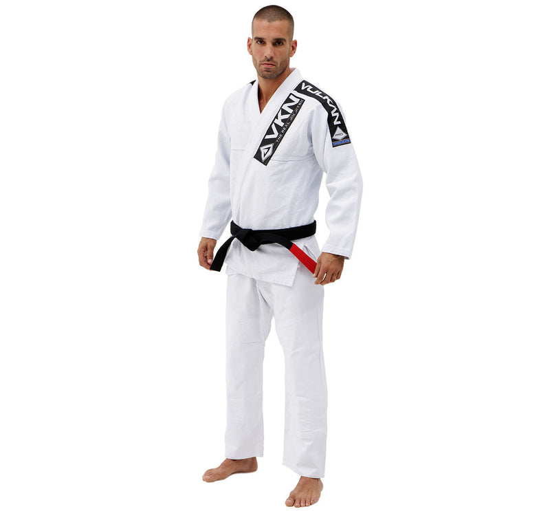 Vulkan Pro Light BJJ GI White 2018