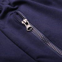 Absolute Navy Tapered Trackpants