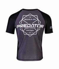 PREDATOR HEX SHORT SLEEVE RASHGUARD Back