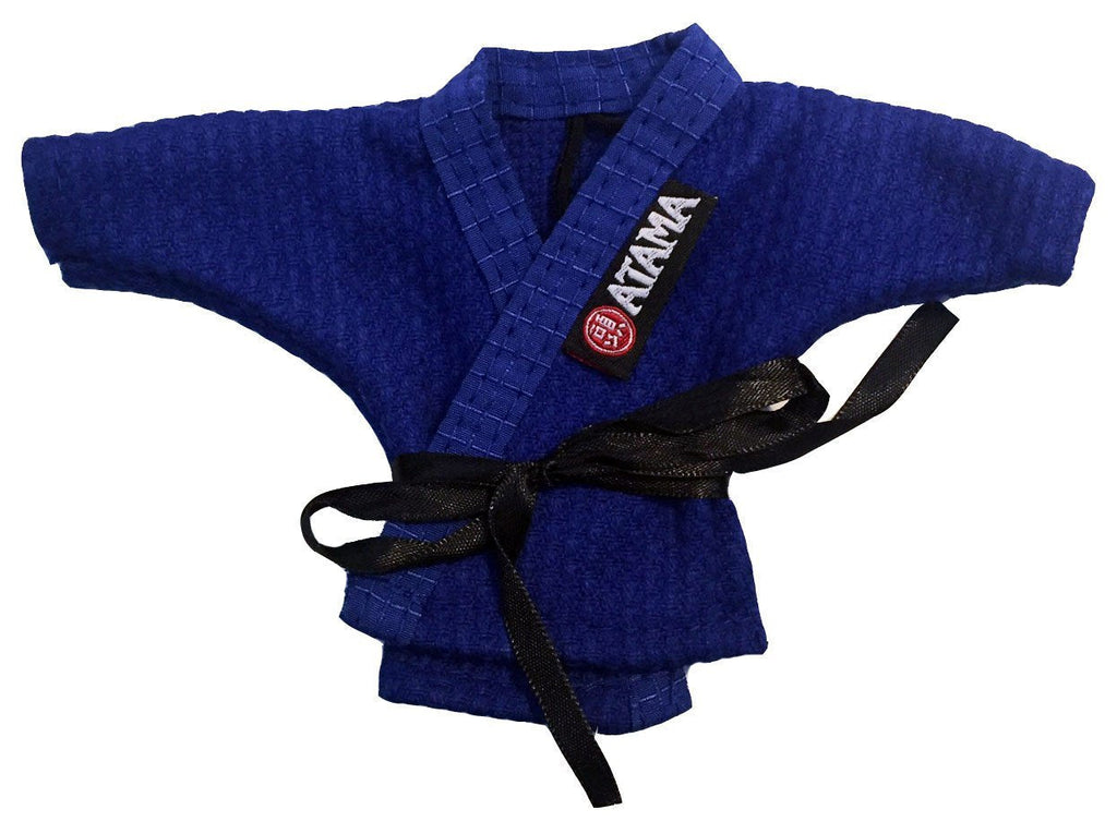 BLUE ATAMA LITTLE BJJ KIMONO KEY HOLDER