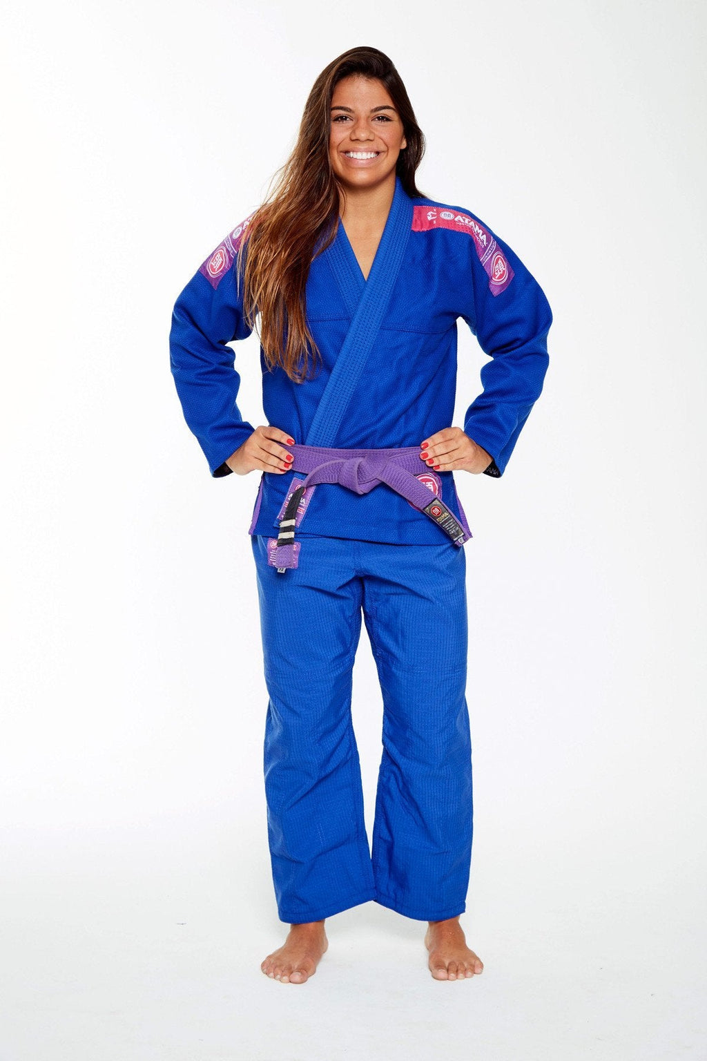 ATAMA BLUE ULTRA LIGHT BJJ KIMONO 2.0 (WOMEN) (GI)