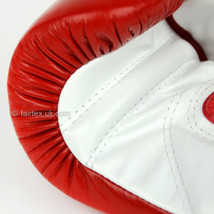 BGL6 Fairtex Red Lace-up Competition Gloves
