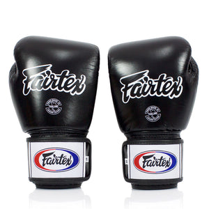 BGV1-B Fairtex Breathable Boxing Gloves Black
