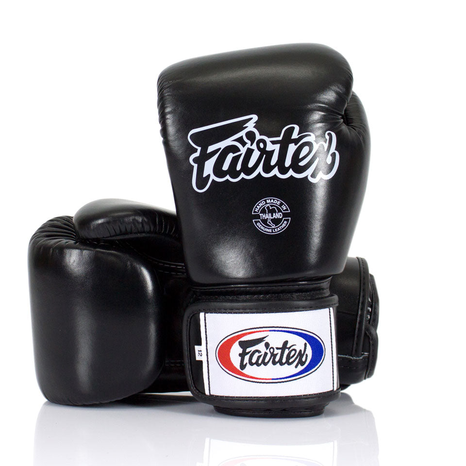 BGV1 Fairtex Blue Universal Gloves Black