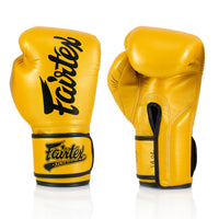 BGV18 Fairtex Gold Super Sparring Gloves