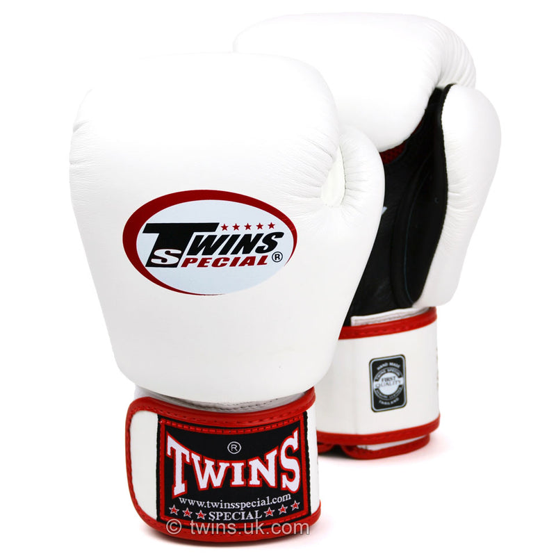 BGVLA2 Twins Air Flow White-Black Boxing Gloves
