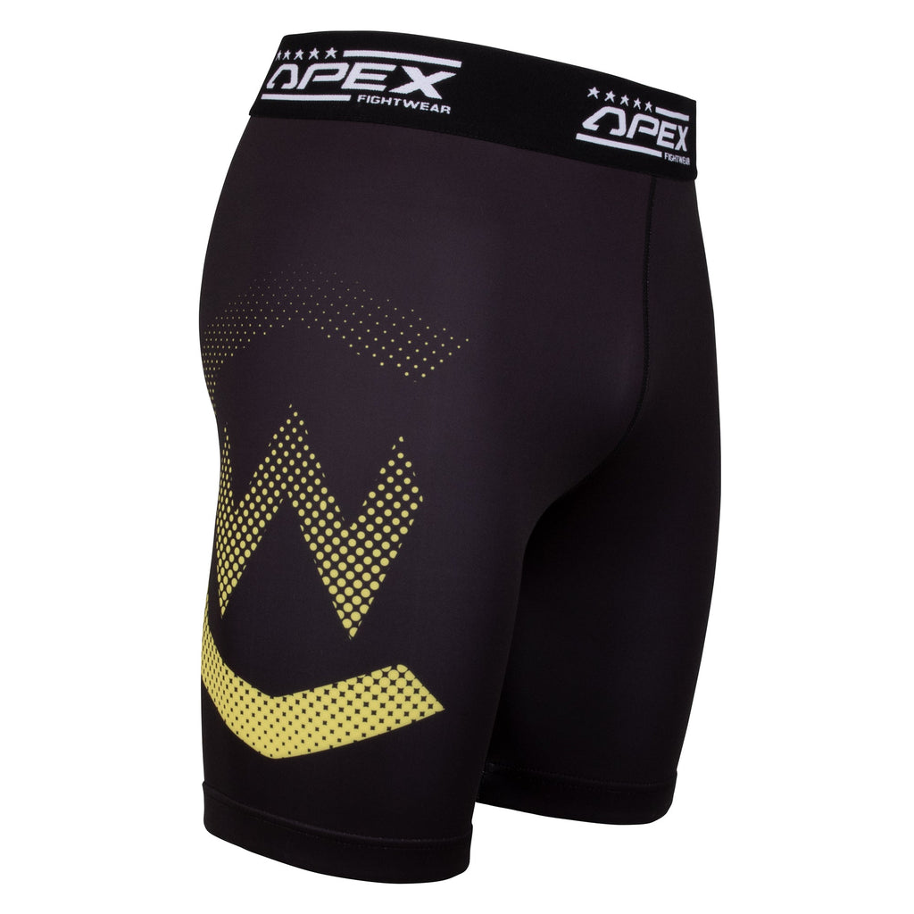 Apex X Cage Warriors Black Vale Tudo Shorts