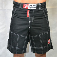 Valor Hybrid GI Trouser Material Shorts Black
