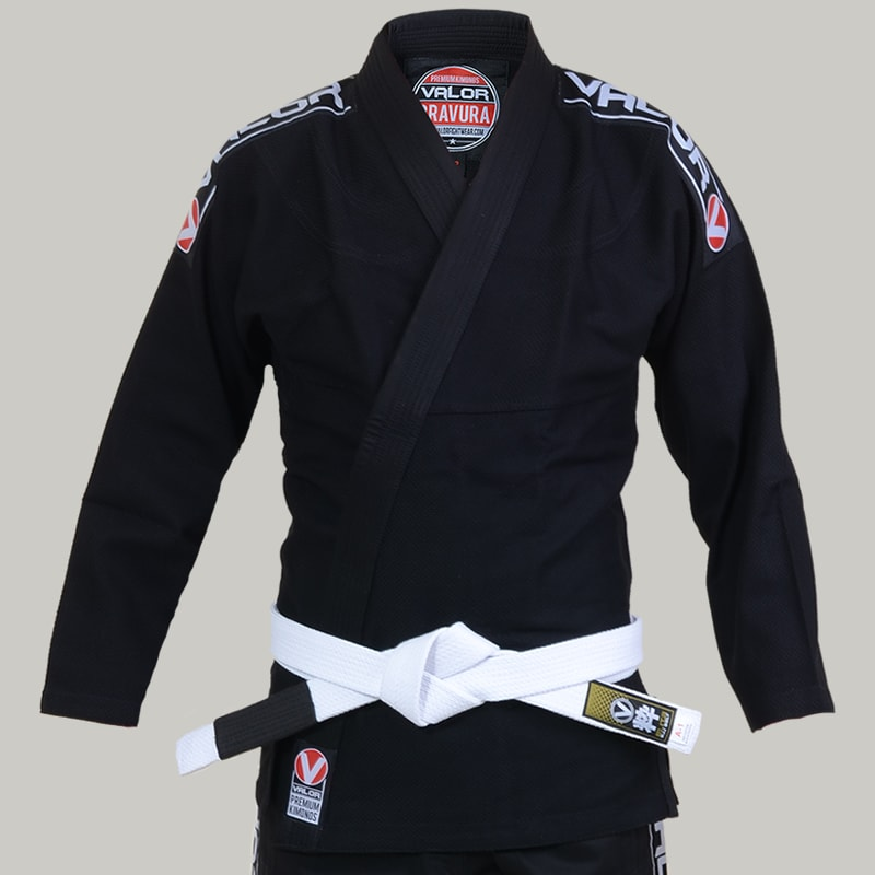Ladies Valor Bravura BJJ GI Black