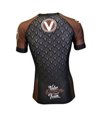 Valor IBJJF Rank Rashguard Brown
