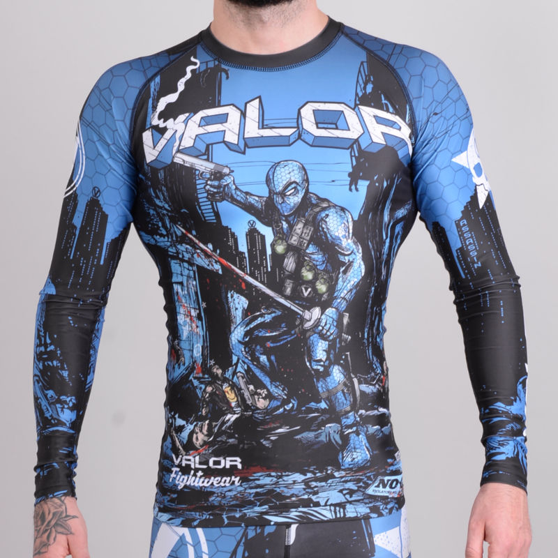 Fightwear Valor Assassin Artwork Rashguard