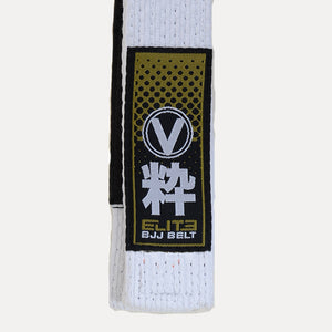 Valor Elite BJJ Belt White