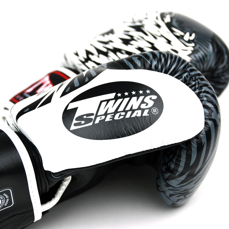 FBGVL3-50 Twins White Wolf Boxing Gloves