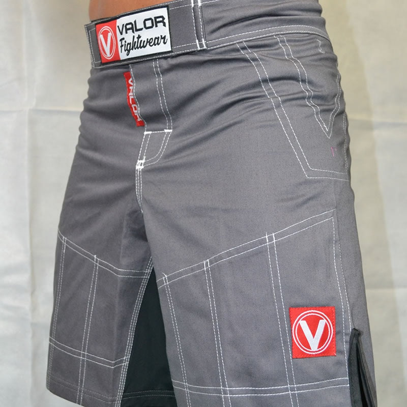 Valor Hybrid GI Trouser Material Shorts Grey