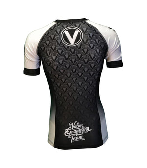 Valor IBJJF Rank Rashguard White