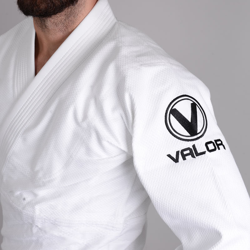 Valor Shori 450 Judo Suit White