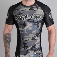Valor Liquid Camo Rashguard Jungle