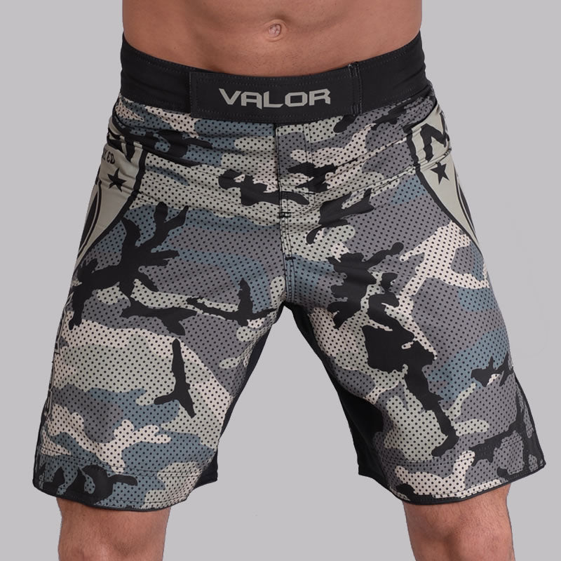 Valor Liquid Camo NO GI Shorts Jungle