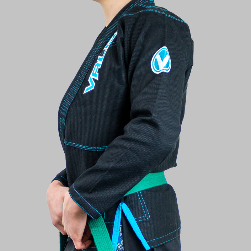 Kids Valor VLR Superlight BJJ GI Black Side