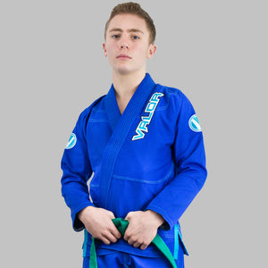 Copy of Kids Valor VLR Superlight BJJ GI Blue front