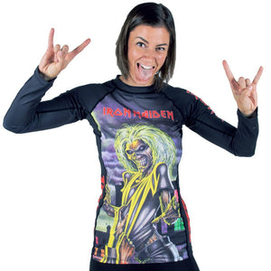 Ladies Tatami x Iron Maiden Killers Rash Guard