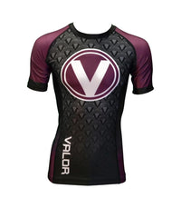 Valor IBJJF Rank Rashguard Purple