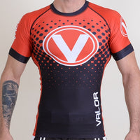 Valor IBJJF Rank Rashguard Black