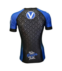 Valor IBJJF Rank Rashguard Blue