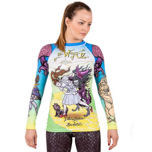 Ladies Meerkatsu Whizzer Of Oz Rash Guard