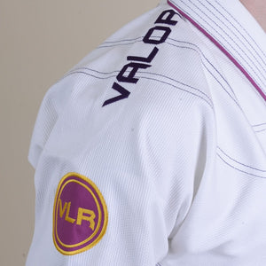 Ladies Valor VLR Superlight BJJ GI White