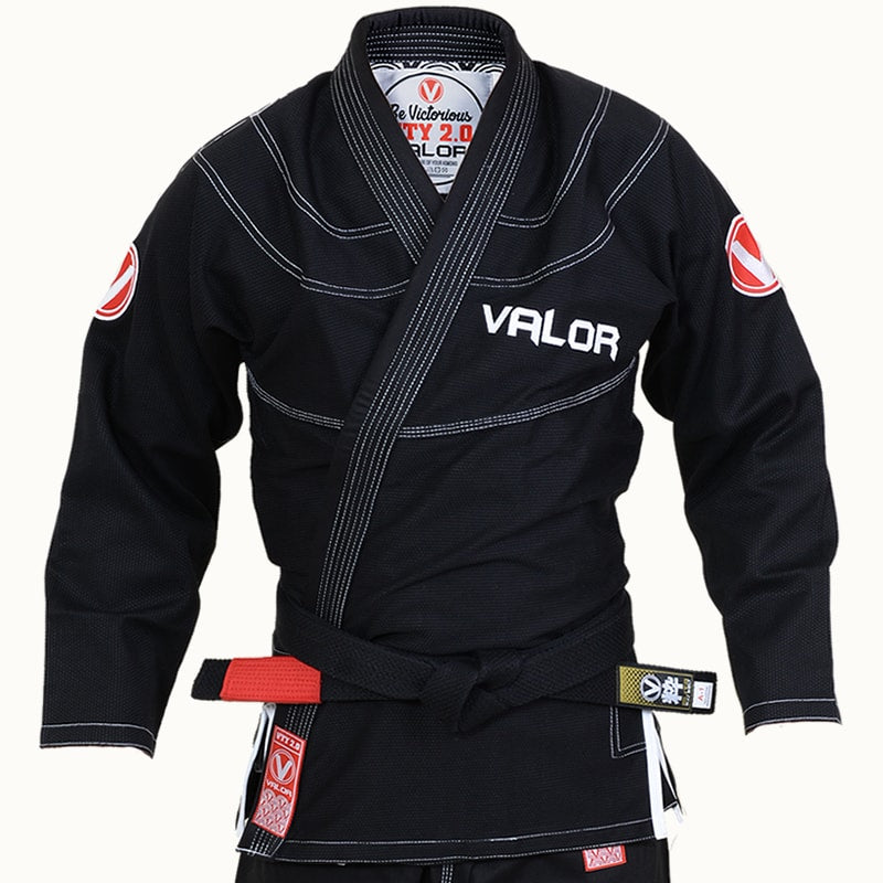 Ladies Valor Victory 2.0 Premium Lightweight BJJ GI Black