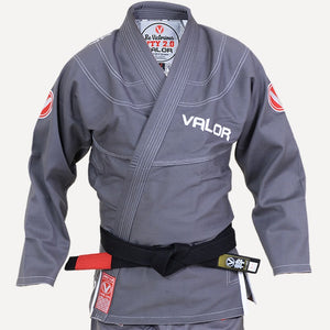 Ladies Valor Victory 2.0 Premium Lightweight BJJ GI Grey