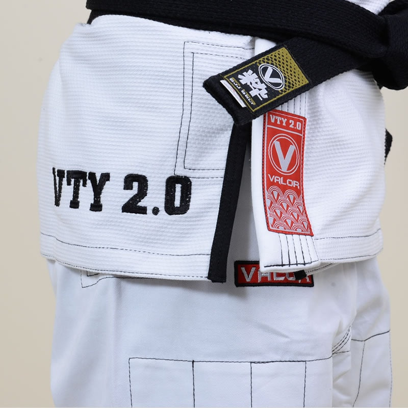 Ladies Valor Victory 2.0 Premium Lightweight BJJ GI White