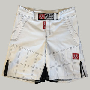 Valor Hybrid GI Trouser Material Shorts White