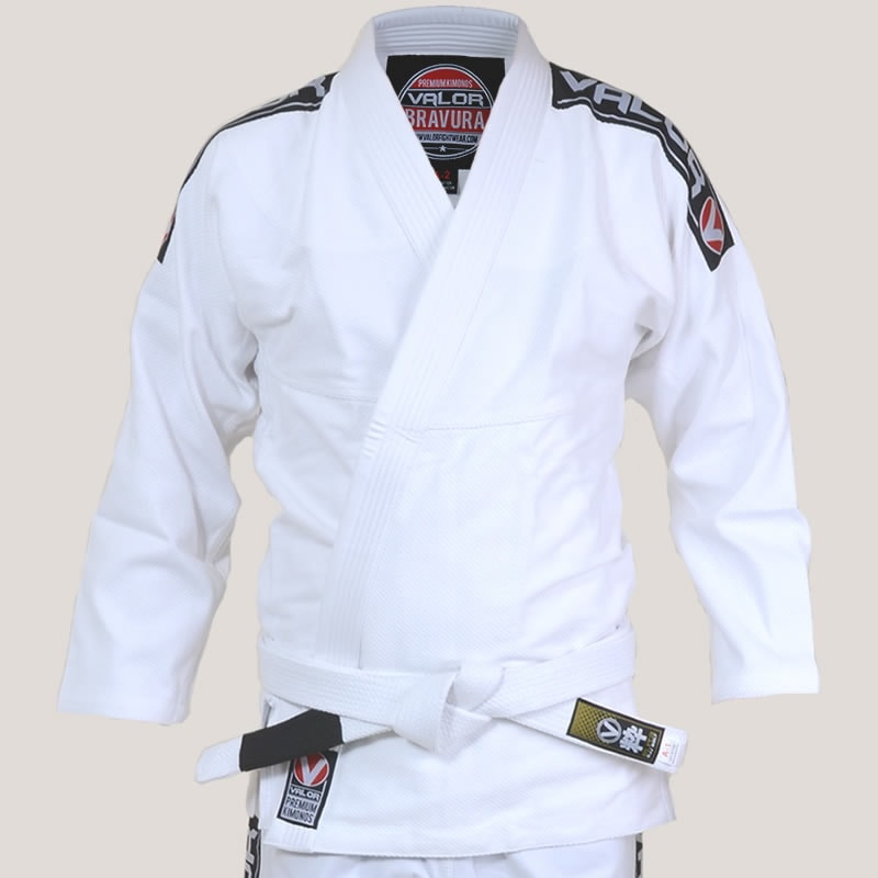 Ladies Valor Bravura BJJ GI White