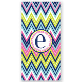 Personalized Beach Towel~Chevron - Bellalicious Boutique