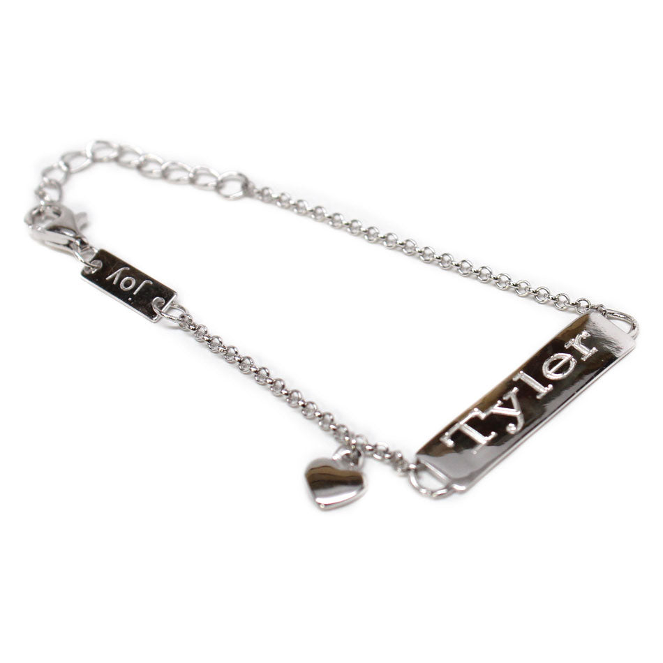 Personalized Bar Baby Bracelet