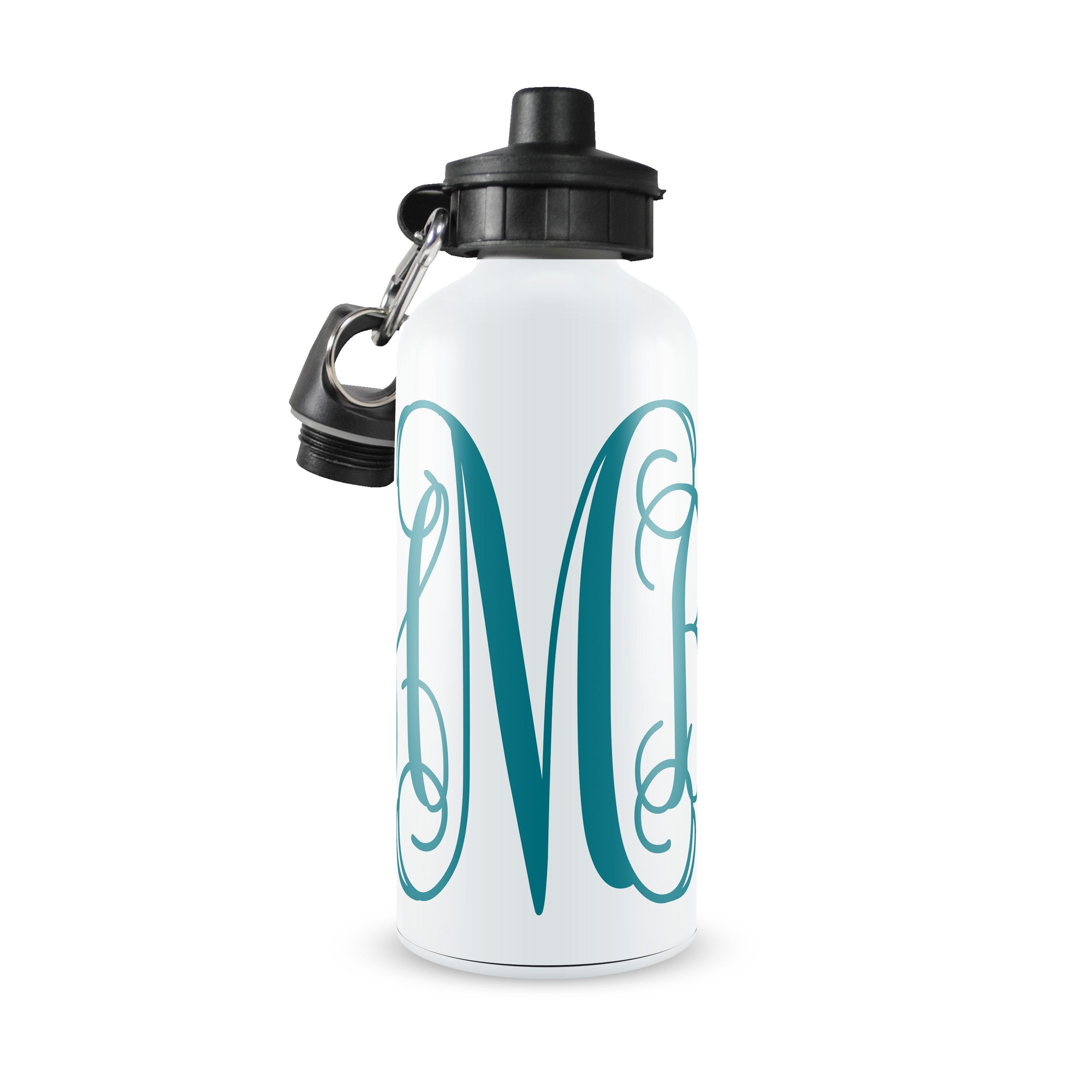 Personalized Kids Water Bottle ~ Script Monogram
