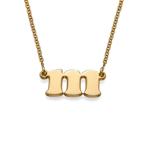 Gold Initial Necklace - Bellalicious Boutique