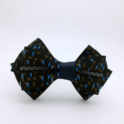 Mighty Black Bow Tie