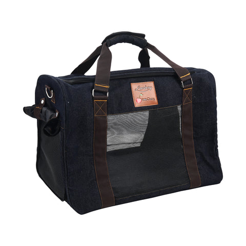 Ajax Denim Pet Carrier