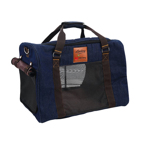 Adrian Denim Pet Carrier