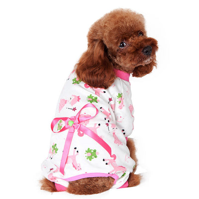 Momo Pajamas (Pink) - Little Cherry