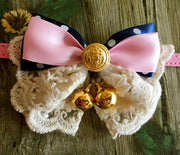Daisy Bow Tie - Little Cherry
