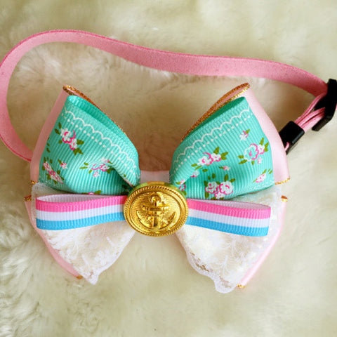 Candy Bow Tie Collar