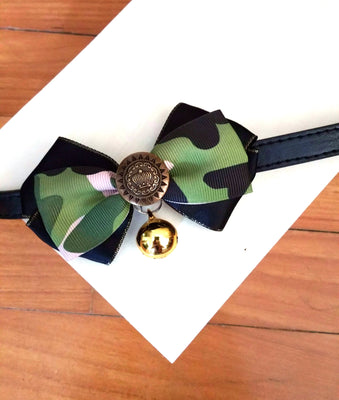 Army Bow Tie - Little Cherry
