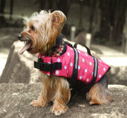Pink Polka Life Jacket - Little Cherry