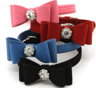 Bow Tie Collars - Little Cherry